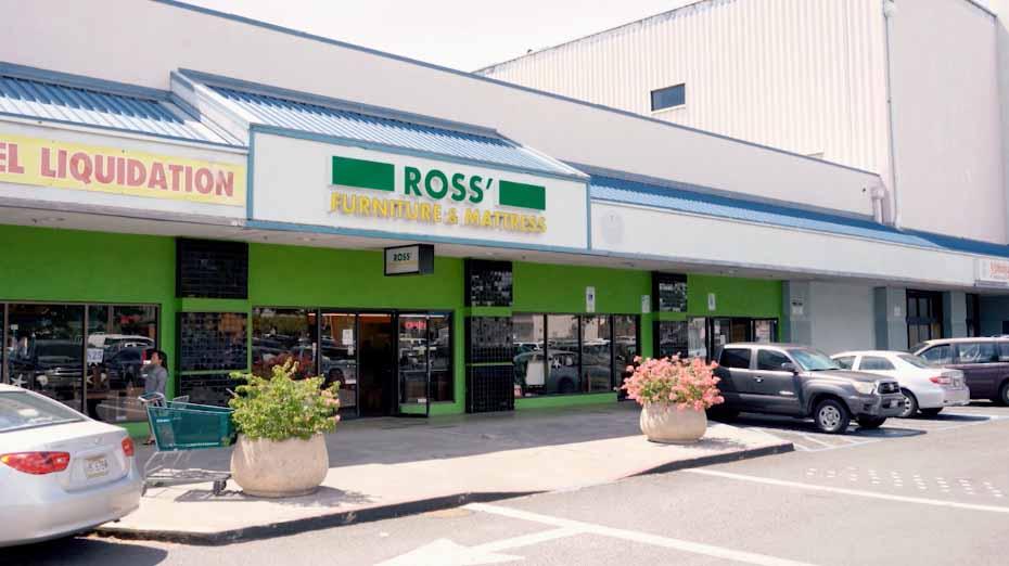 Ross Hawaii Appliances Mattress Furniture